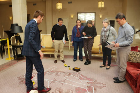 Team-building policier - Murder Party