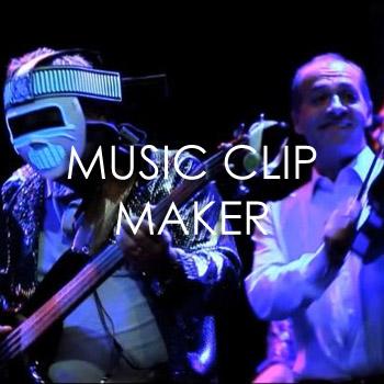 Music clip maker