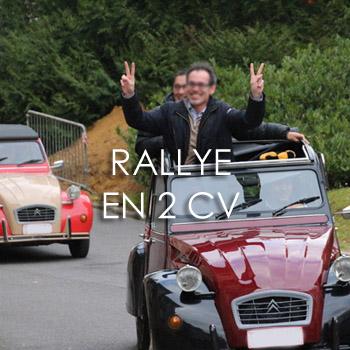 Rallye en 2CV ou Méhari