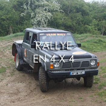 Rallye en 4×4