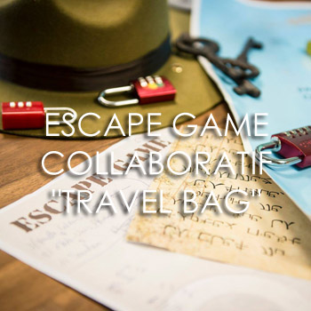 Escape Game Travel Bag