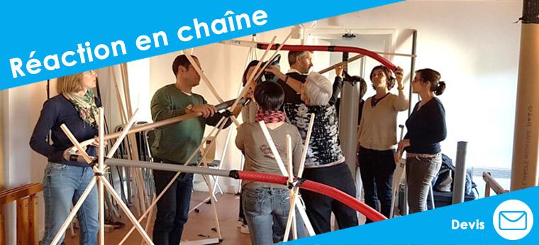 Team-building Collaboratif : Réaction en Chaine