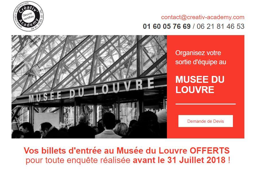 Rallye enquête au Musée du Louvre
