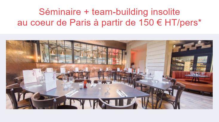 Seminaire et team-building à Paris