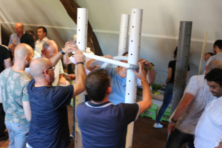 Reaction en chaine - un team-building collaboratif