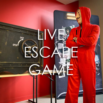 "Live Escape Game ""Le Casse du siècle"""