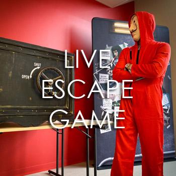 Live Escape Game «Le Casse du siècle»