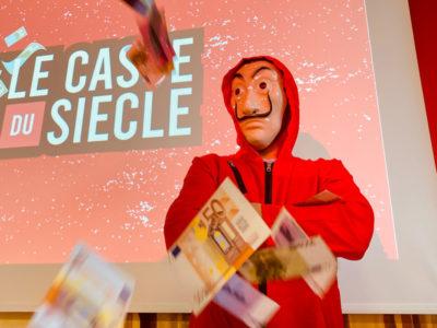 """Live escape game """"Le casse du siècle"""""""