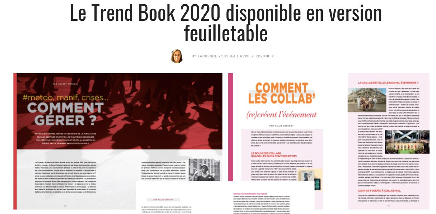 Meet in - Trend Book 2020