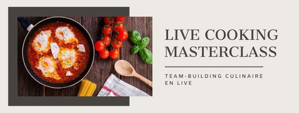 Masterclass cuisine en Live