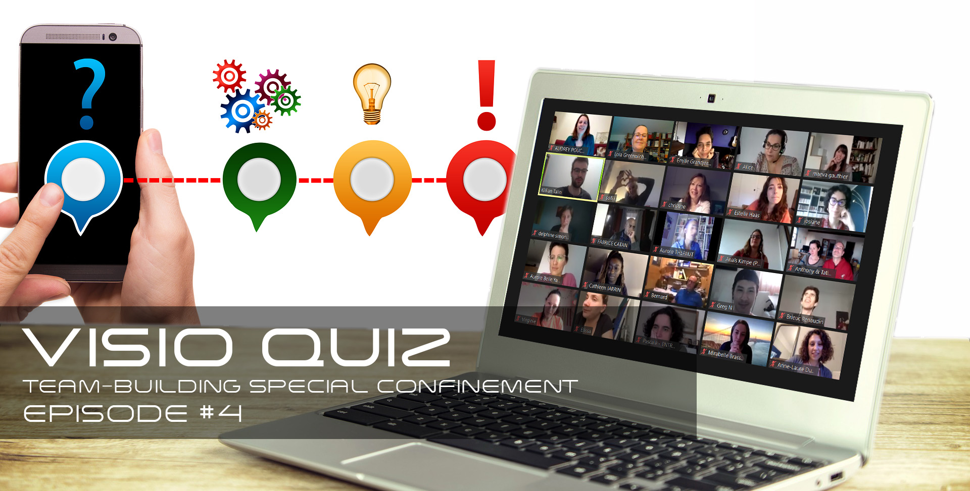 Visio Quiz - quiz en visio à distance ou en présentiel